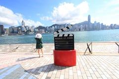 Hong Kong The Avenue of Stars Stock Image