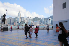 Hong Kong The Avenue of Stars Stock Photos