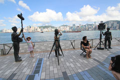 Hong Kong The Avenue of Stars Royalty Free Stock Images