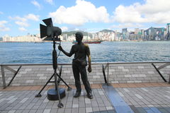 Hong Kong The Avenue of Stars Royalty Free Stock Photo