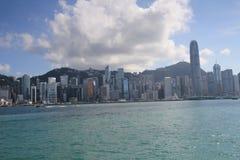 Hong Kong The Avenue van Sterren Stock Foto