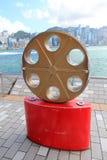 Hong Kong The Avenue von Sternen lizenzfreie stockfotos