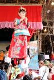 2016 Hong Kong babeczki festiwalu parada pławiki Zdjęcia Royalty Free