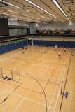 Hong Kong badminton hall in Hang Hau Sports Centre Stock Photography