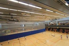 Hong Kong badminton hall in Hang Hau Sports Centre Stock Images