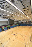 Hong Kong badminton hall in Hang Hau Sports Centre Stock Photo