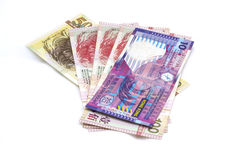 Hong kong bank notes Stock Photo