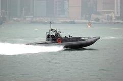 Hong Kong - barca veloce immagini stock libere da diritti