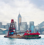 Hong Kong barge Stock Photography