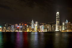 Hong Kong Bay. Shot of Hong Kong from Kowloon Stock Photography