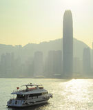 Hong Kong bay Royalty Free Stock Images