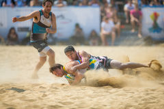 Hong Kong Beach 5's 2014. Hong Kong, China - March 22, 2014: Hong Kong Beach 5's 2014 is the fourth year running and become a staple of Hong Kong's annual Royalty Free Stock Photos