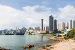 Hong Kong beach Royalty Free Stock Image