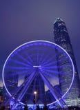 Hong Kong Big Wheel Imagens de Stock Royalty Free