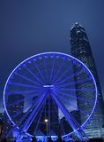 Hong Kong Big Wheel Royalty-vrije Stock Foto