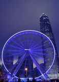 Hong Kong Big Wheel. Was opened on 5 Dec 2014 Royalty Free Stock Images