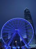 Hong Kong Big Wheel. Was opened on 5 Dec 2014 Royalty Free Stock Photo