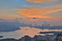 Hong Kong bij 2016 Royalty-vrije Stock Foto's