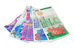 Hong Kong bills Stock Photos