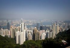 Hong Kong bis zum Tag Stockbilder