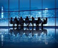 Hong Kong Biznesowy spotkanie Fotografia Stock