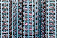 Hong Kong block. Stock Photography