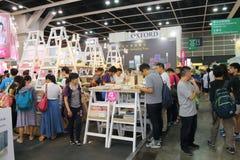 Hong Kong Book Fair 2015 Fotografia Stock