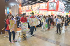 Hong Kong Book Fair 2015 Fotografia Stock Libera da Diritti