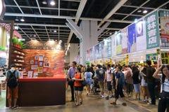Hong Kong Book Fair 2015 Fotografie Stock