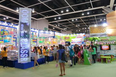 Hong Kong Book Fair 2015 Fotografie Stock