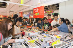 Hong Kong Book Fair 2015. The annual exhibition at the City Hall organised by the Hong Kong Publishing Federation could be regarded as the predecessor of the Royalty Free Stock Images