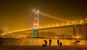Hong Kong Bridge stock photo