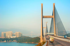 Hong Kong bridge Royalty Free Stock Photography