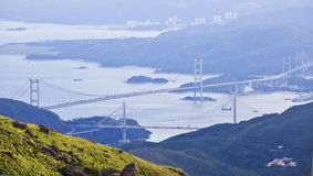 Hong Kong bridges Royalty Free Stock Photography