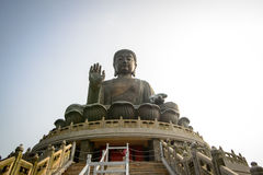 Hong Kong Buddha Fotografia Stock Libera da Diritti