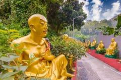 Hong Kong Buddhas Zdjęcia Stock