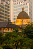 Hong kong budynku władzy ustawodawczej Obrazy Royalty Free