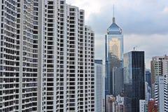 Hong Kong buildings Royalty Free Stock Images