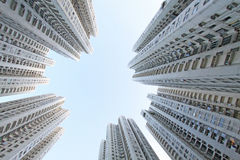Hong Kong buildings Royalty Free Stock Photo