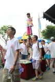 2015 Hong Kong Bun Festival in Cheung Chau Royalty-vrije Stock Afbeeldingen