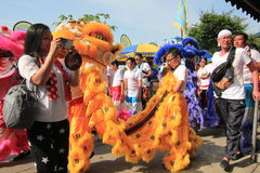 2015 Hong Kong Bun Festival in Cheung Chau Royalty-vrije Stock Afbeelding