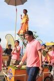 Hong Kong Bun Festival 2015 em Cheung Chau Fotografia de Stock Royalty Free