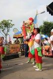 Hong Kong Bun Festival 2015 em Cheung Chau Fotos de Stock Royalty Free