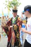 Hong Kong Bun Festival 2015 en Cheung Chau Imagen de archivo libre de regalías