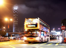 Hong Kong bus Royalty Free Stock Photo