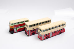 Hong kong Bus Isolated with Clipping Path Stock Image
