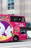 Hong Kong Bus Stock Image
