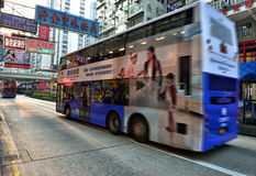 Hong Kong Bus Stock Images
