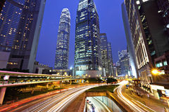 Hong Kong business district Royalty Free Stock Image
