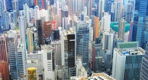 Hong Kong business district Royalty Free Stock Photos
